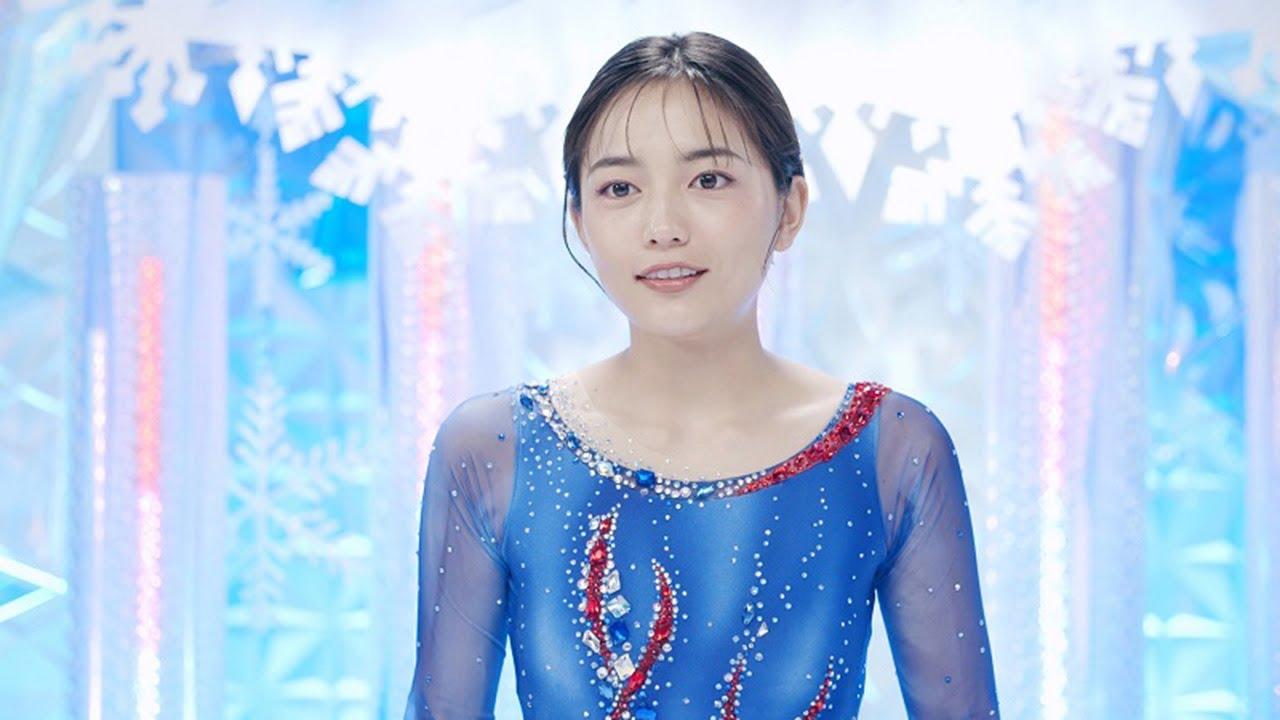 川口春奈が初フィギュアスケーター役に!!可愛いと絶賛の動画あり